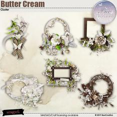 Butter Cream Cluster by BeeCreation