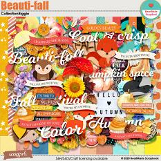 Beauti-fall collection biggie by HeartMade Scrapbook