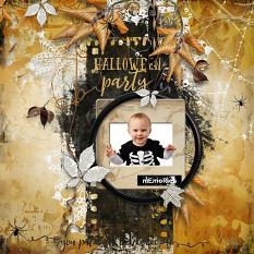 Halloween Embellishment Template : Mask by Florju Designs