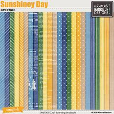 Sunshiney Day Extra Papers