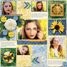 Sunshiney Day Layout