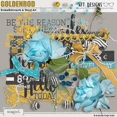 Goldenrod #digitalscrapbooking Embellishments by AFT Designs - Amanda Fraijo-Tobin @ScrapGirls.com