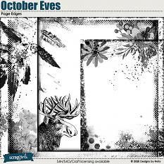 October Eves Page Edges by Designs by Helly