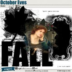 October Eves Masks by Designs by Helly