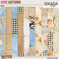 Love Autumn Papers