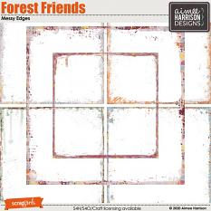 Forest Friends Messy Edges