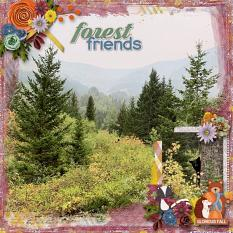 Forest Friends Layout