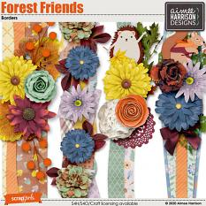 Forest Friends Borders