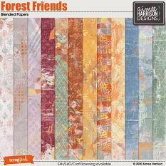 Forest Friends Blended Papers