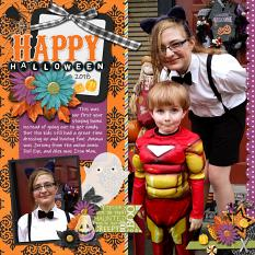 CT Layout using Halloween Night by Connie Prince