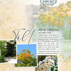 """""""Fall"""" digital layout showcases SSDLAT: Simply Blended, Series 1"""