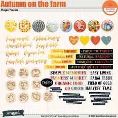 Autumn on the farm extra by HeartMade Scrapbook