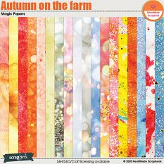 Autumn on the farm - magic papers by HeartMade Scrapbook