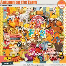 Autumn on the farm collection bigie by HeartMade Scrapbook