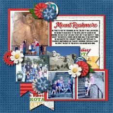 CT Layout using Travelogue: South Dakota by Connie Prince
