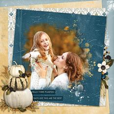"""""""Days Like This"""" digital scrapbooking layout using Whisper Of Change Collections Collections"""
