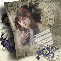 Layout using Dark Places Collection by Designs by Helly