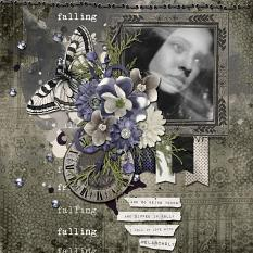 Layout using Dark Places