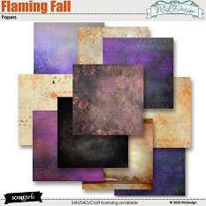 Flaming Fall Collection Mini details