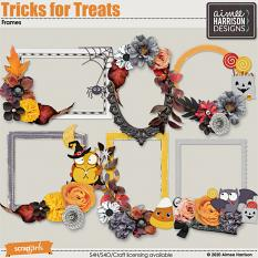 Tricks for Treats Frame Clusters