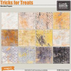 Tricks for Treats Blended Papers