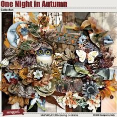 One Night in Autumn Collection Kit by Designs by Helly