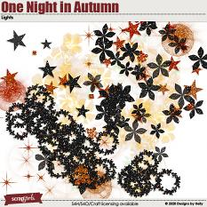 One Night in Autumn Lights by Designs by Helly