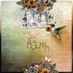 Layout using One Night in Autumn Collection by Designs by Helly