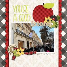 CT Layout using I Pick You by Connie Prince