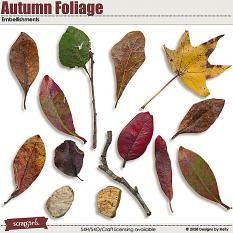 Autumn Foliage by Designs by Helly