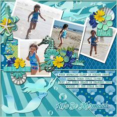 CT Layout using In Pieces 12x12 Templates Vol 27 by Connie Prince