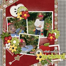 CT Layout using Ribbons & Papers 12x12 Templates Vol 11 by Connie Prince