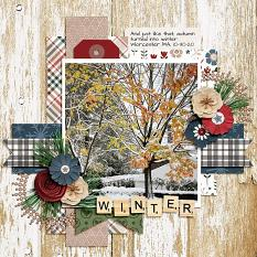 CT Layout using Let's Get Cozy by Connie Prince