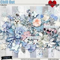 ScrapSimple Digital Layout Collection:chill out