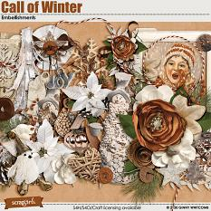 Call of Winter Embellishments