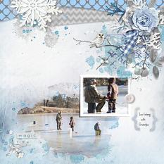 Layout using ScrapSimple Digital Layout Collection:chill out