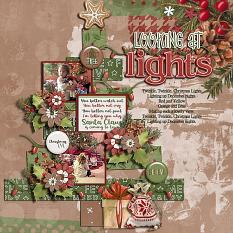 CT Layout using Christmas Cheer by Connie Prince