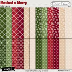 Masked & Merry by Connie Prince