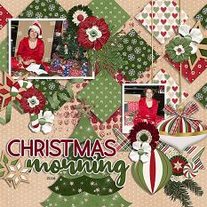 CT Layout using Masked & Merry by Connie Prince