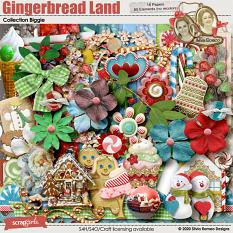 Gingerbread Land Collection Biggie by Silvia Romeo