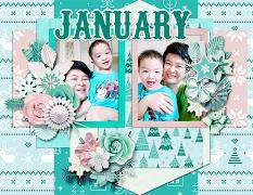 2021 Quick pages Calendars - January by HeartMade Scrapbook