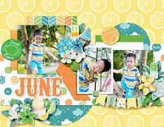2021 Quick pages Calendars - June by HeartMade Scrapbook