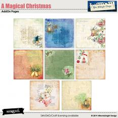 A Magical Christmas AddOn pages by Aftermidnight Design