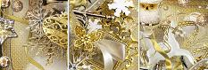 Gold Xmas CloseUp by BeeCreation