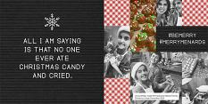 Holiday Letterboard Christmas Layout by Brandy Murry