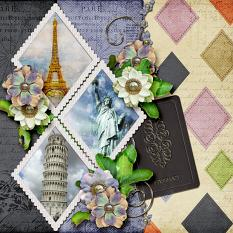 Stacked Frames Layout by Silvia Romeo