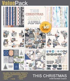 Value pack: This Christmas by HeartMade Scrapbook