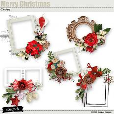 Merry Christmas Clusters