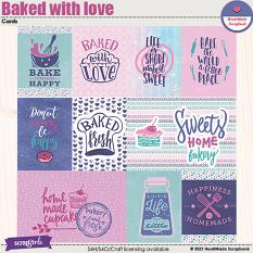 Bakes with love - cards by HeartMade Scrapbook