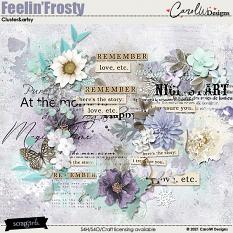 ScrapSimple Digital Layout Collection:artsy and cluster